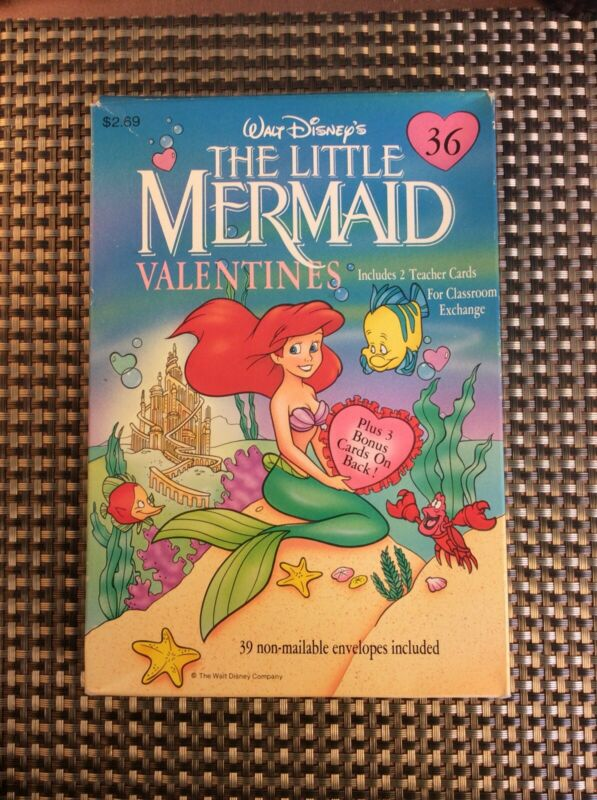 The Little Mermaid Valentines From Gibson Greeting Classroom Exchange