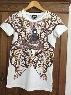 Just Cavalli Tshirt Size Small. Brand New With Tags