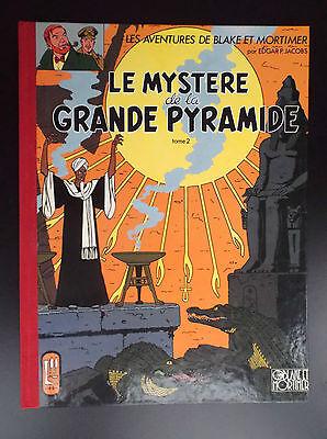 Le mystère de la grande pyramide 2 1991 PROCHE DU NEUF  Blake et Mortimer Jacobs