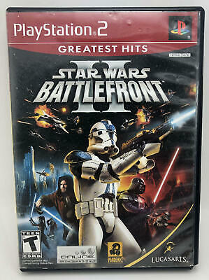 Star Wars Battlefront II - PlayStation 2/PS2 - CIB - Free Shipping