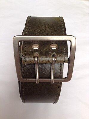 "Excellent Quality Heavyweight Leather Belt 39""(99cm) Waist"