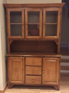 Solid wood armoire / cabinet