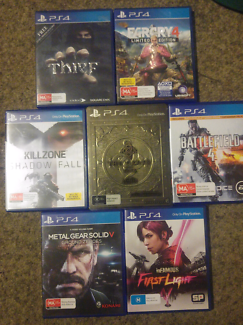 Assorted PS4, Xbox One and WiiU games for sale