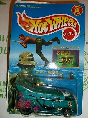 HOT WHEELS  VOLKSWAGEN DRAG BUS NAVY SEALS