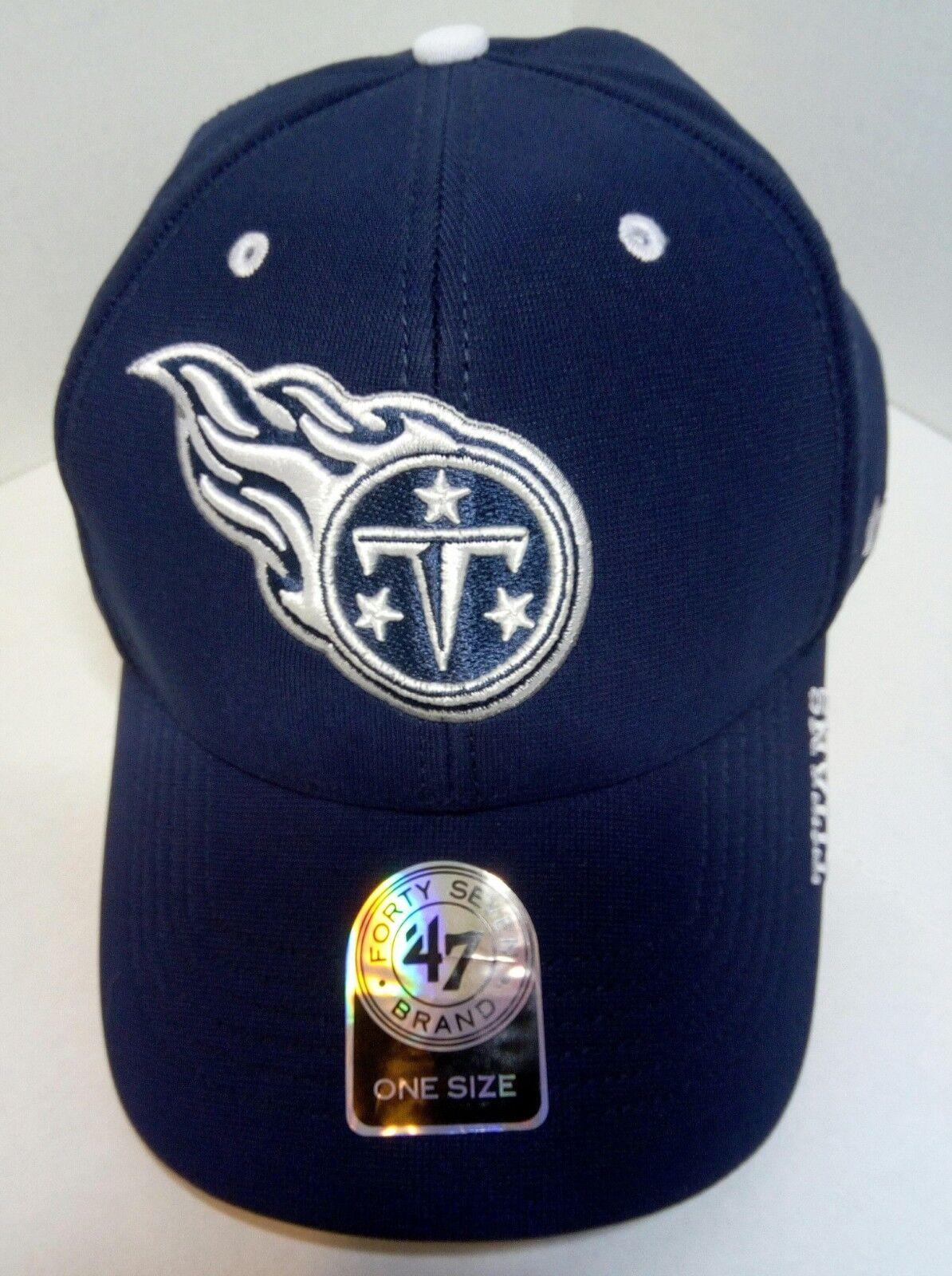 Tennessee TITANS NFL 47 Brand Hat Cap Navy Adjustable Unisex