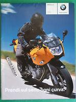 Bmw F800 S St Poster Pieghevole Depliant Prospekt Brochure Reclame Pubblicita -  - ebay.it