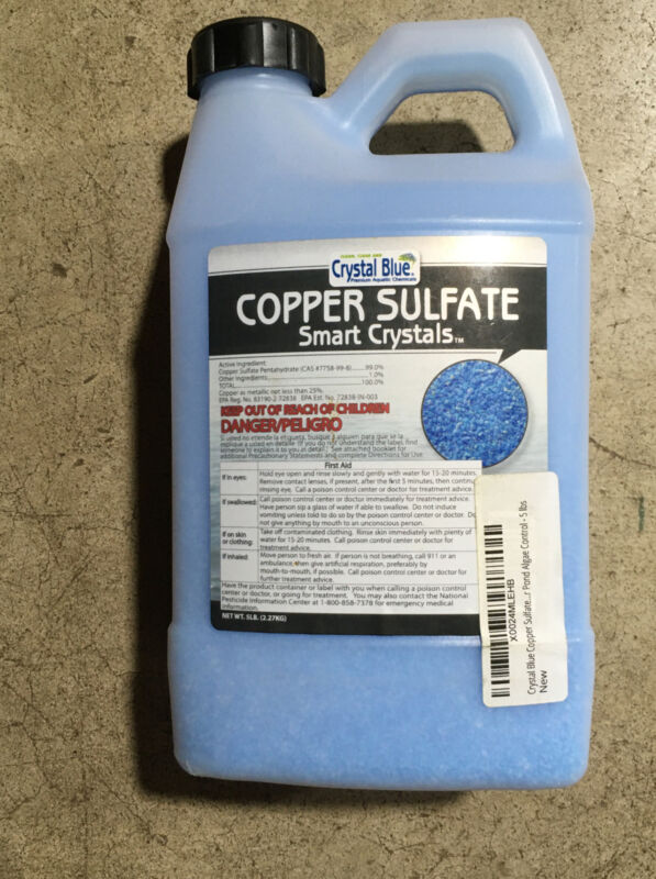Crystal Blue SC333 5lb. Copper Sulfate Smart Crystals