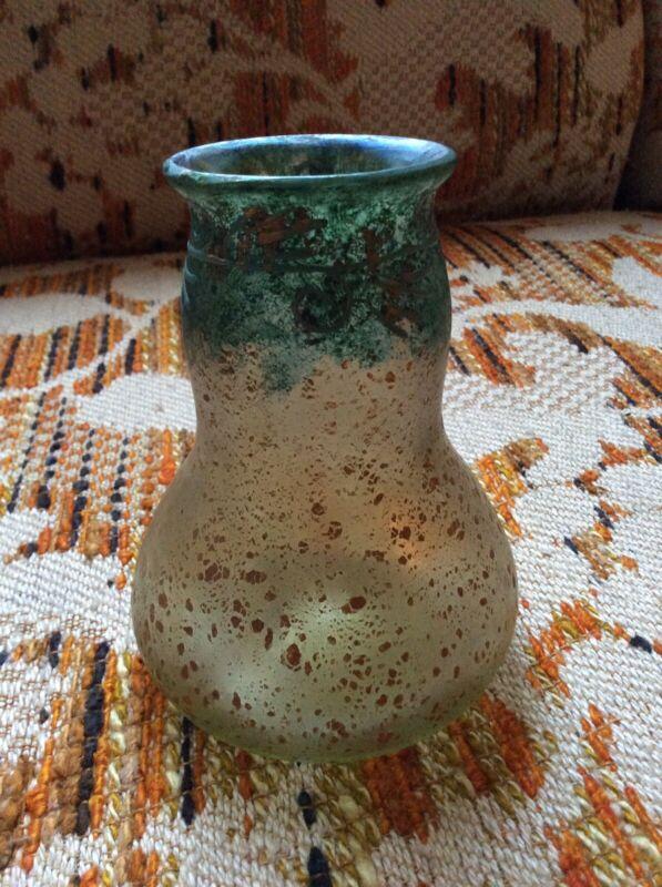 """Loetz Cephalonia 4 7/8"""" Art Glass Vase"""