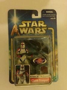 Clone Trooper Action Figure. Attack of the Clones. Mint in pack. Singleton Singleton Area Preview