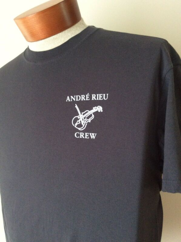 Andre Rieu Vintage Concert Local Crew T-Shirt XL Gray NEW/NEVER WORN