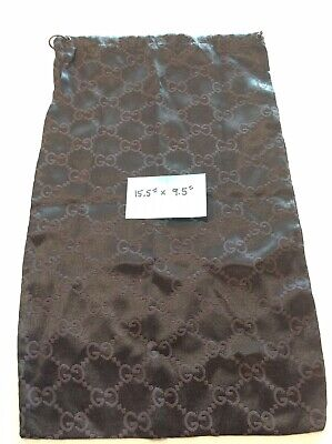"""Gucci Monogram Vintage Dust Bag, Made In Italy 15.5"""" X 9.5"""""""
