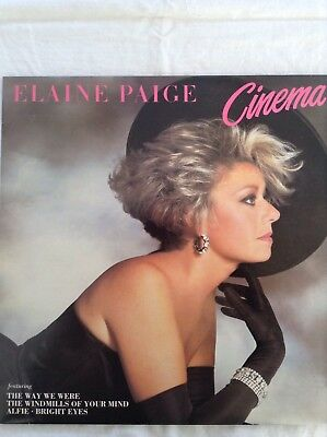 ELAINE PAIGE: CINEMA  1984 K-Tel/Warner LP NE1282  Film musical favourites  NM