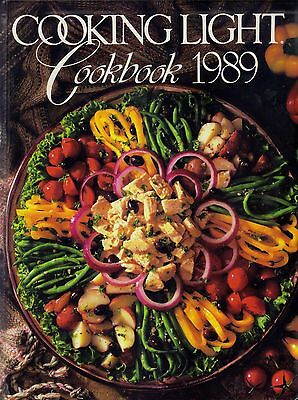 Cooking Light, 1989 by Oxmoor House Staff (1989, Hardcover)