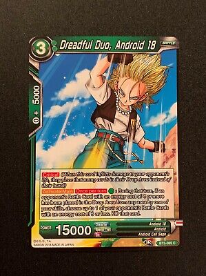 Diabolical Duo Androids 17 /& 18 BT2-070 Dragon Ball Super CCG Mint