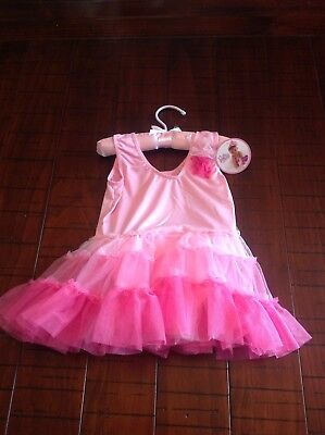 New Girl's Baby PRINCESS EXPRESSIONS Halloween Dance Leotard Costume 18-24 Month (24 Month Baby Halloween Costumes)