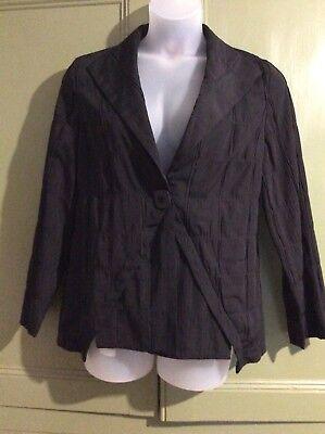 "Vetona Be Natural 111 44"" Black Lagen Look Jacket Career Workwear Business ()"