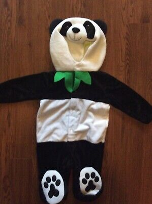 Cute My Dream Party Child Plush Panda Bear Costume Infant Toddler 12-18 Mo New - Panda Bear Costume Toddler