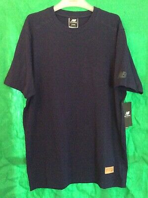 "Mens New Balance Athletics Reengineered T Shirt Large 41/43"" Blue BNWT"