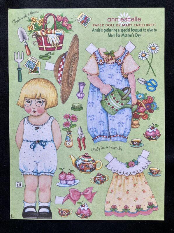 MARY ENGELBREIT Mag. Paper Doll, Ann Estelle, Uncut