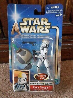 """Star Wars AOTC Episode II Clone Trooper Republic Gunship Pilot '02 #49 """"NEW"""""""