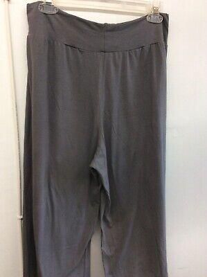 LABO.ART Size 3 Gray Casual Stretch Pants W/Elastic Waist
