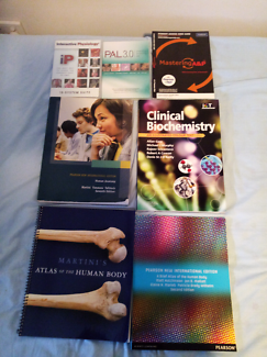 Biomedical/ science textbooks, cds, online codes