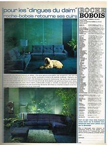 Publicit advertising 1974 meubles mobilier les canap s for Ebay canape roche bobois