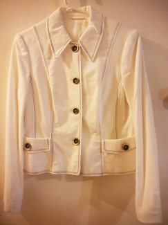 BETTY BARCLAY COLLECTION White, Retro Style Jacket
