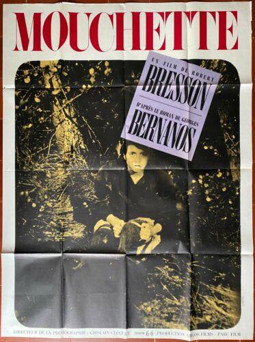Poster Mouchette Nadine Nortier Robert Bresson Georges Bernanos 47 3/16x63in