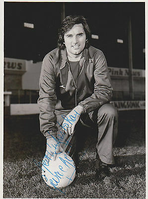 GEORGE BEST MANCHESTER UNITED & NORTHERN IRELAND Legend original autograph +card