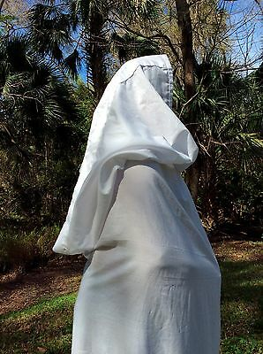 Gandalf Cape Hood Wizard Costume Witch Mage Halloween Lord of the Rings cosplay