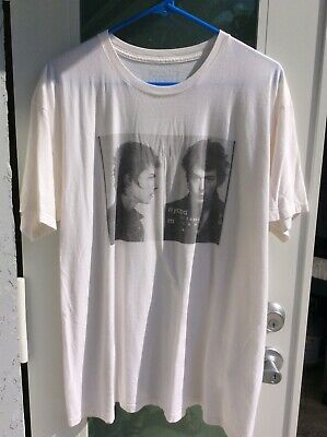 Rare Sid Vicious Minority Rebels T-Shirt XL Mug Shot