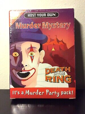 Host Your Own Murder Mystery Death In the Ring Party  New  Halloween  Party Idea
