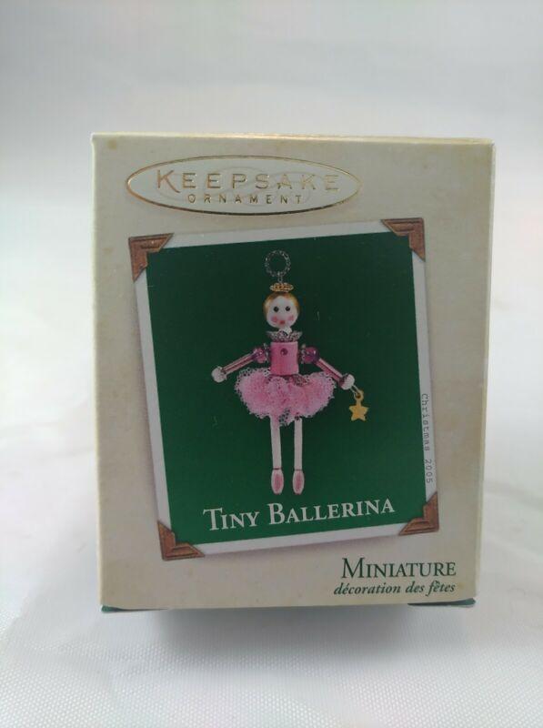 """Hallmark Keepsake Miniature """"Tiny Ballerina"""" 2005 NEW"""
