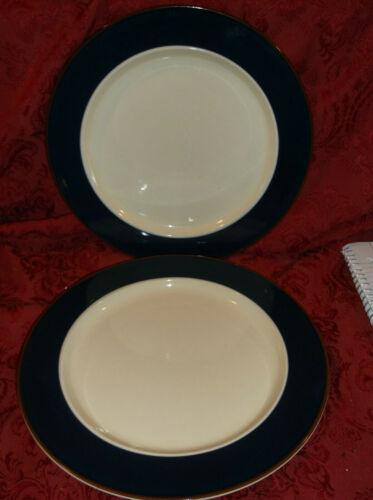 3 INTERNATIONAL BANDS OF CELEBRATION SUCCESS COBALT BLUE SY 7850 DINNER PLATES