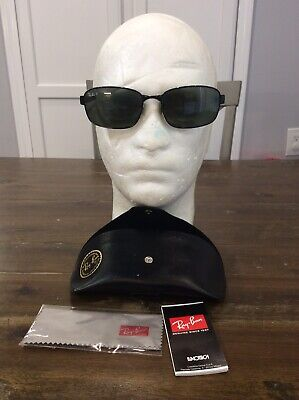 Authentic Ray Ban Aviator RX Prescription Sunglasses RB 3413 002 MINT!! Frames