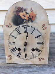 German Black Forest Spring Driven Miniature Wall Clock Movement, Andres Dworsky