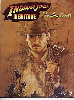 INDIANA JONES HERITAGE 2008 Topps COMPLETE TRADING CARD SET (1-90)