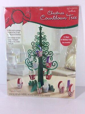 Hallmark Christmas Countdown Tree 12 Days of Christmas Advent Calendar - Countdown Calendar Days