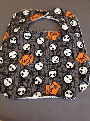 Jack Skellington Faces (Jack Skellington Faces Nightmare Before Christmas Baby Large Baby Drool)