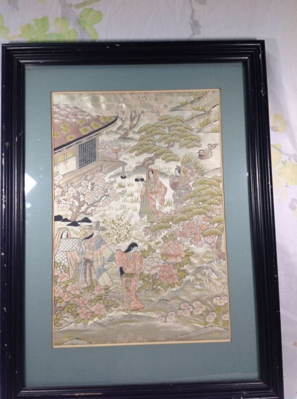 19/20th Japanese Embroidery Frame