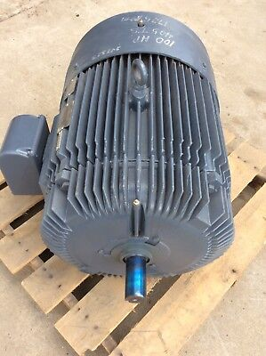 Reliance 100 Hp Motor 1ma465214-g2-jz Fr405ts 460v 1775rpm Rebuilt