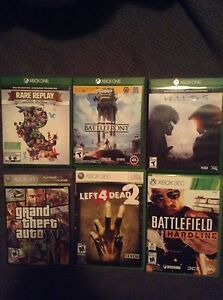 Xbox One & 360 games for sale