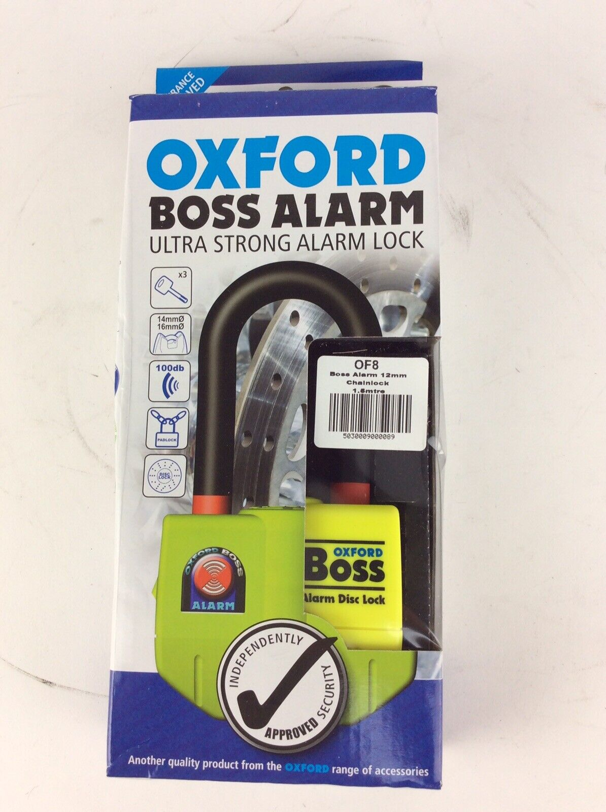 OF3A Oxford Motorbike Motorcycle Spare ALARM MODULE for Boss Alarm lock