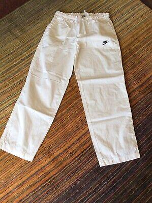 Nike Yoga Pants Size XL, White