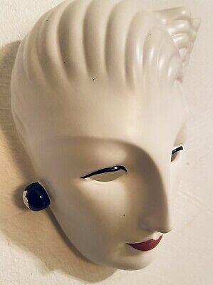 Vandor Wall Hanging Face Mask Unique Original Hand painted Pelzman 1985