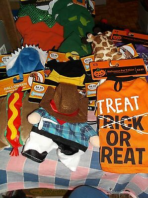ksm. New Halloween Dog Costume  Use Drop Boxes To Chose Size & - Dog Costume Box