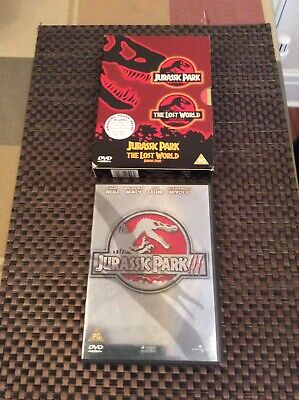 Jurassic Park 1,2 And 3 Dvds In Perfect Condition