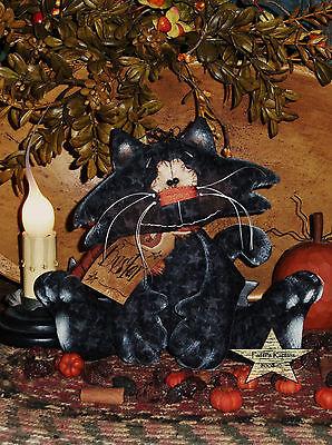 Primitive Patti's Ratties  Buster Kitty Cat Ornie Doll Paper Pattern #364