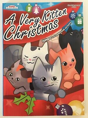 A Very Kitten Christmas Coloring Activity Book for Kids Children ()
